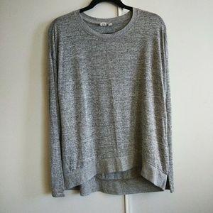 GAP | Lightweight Gray Knit Pullover Sweater
